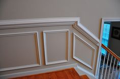 wall molding by Crown Molding.
