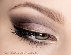 mauve and gold