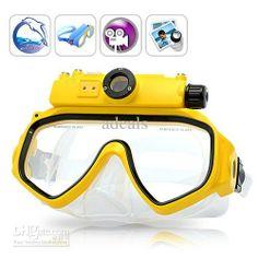 Wholesale Digital Camera - Buy Ocean Snapper - Underwater Scuba Mask with DVR 2GB Glasses Camera Sports Underwater Cameras, $147.08 | DHgate