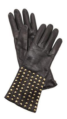 { DVF studded gloves }