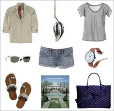 In my parallel universe this is my summer wardrobe for my summer lifestyle...and it looks good on me.