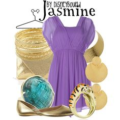 """Jasmine"" by lalakay on Polyvore #disney"