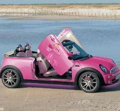 Pink Panther convertible