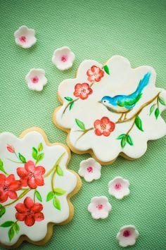 hand-painted sugar cookies