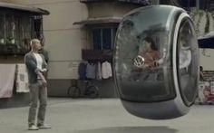 Volkswagen's Hover Car concept in China is fake, but still cool. (In Chinese)