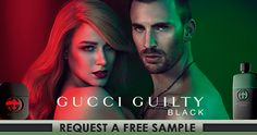 Get a #Free #Sample of #Gucci Guilty Black #Beauty #Freebies #Perfume