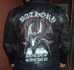 bathory jacket more painting leather jackets post bathory jackets ass