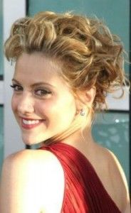 Updo grad hair, brittany murphy updo, short updo, hair dos, hair heaven, hairstyl, hair style, style statement, hair idea