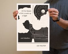 Original Illustration - Leo Tolstoy quotation  (this magically appeared today. now to get it framed.)