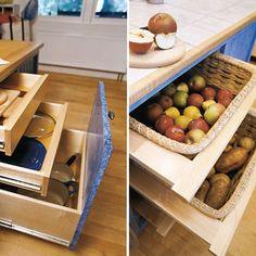 storage for new kitchen island