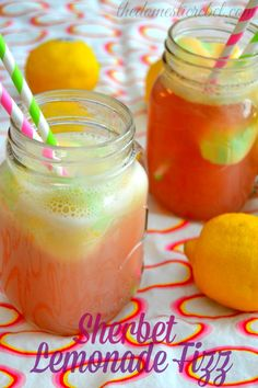 Sherbet Lemonade Fizz