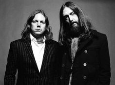 rich & tim robinson of the black crowes - musicians