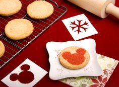 Disney Printable: Mickey Mouse Sugar Cookie Stencils