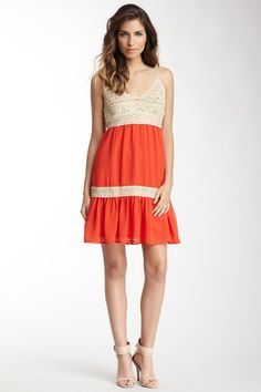 Flying Tomato Crochet Dress