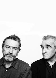 Robert De Niro and Martin Scorsese. Photo: Brigitte Lacombe.