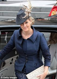 The Countess of Wessex wore a Jane Taylor over the Jubilee weekend