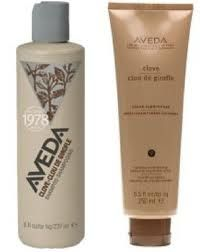Clove. ENRICH COLOR FOR BROWN.  Shampoo & Conditioner: Imparts warm and honey tones, with organic clove