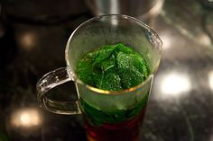 Mint Iced Tea by food52 #Iced_Tea #Mint_Iced_Tea #food52