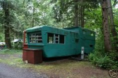 photos vintage mobile home - Google Search
