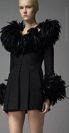 Feathers/karen cox....Pre-Fall 2014 Valentino