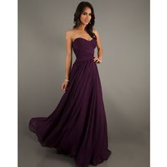 Ruched Strapless