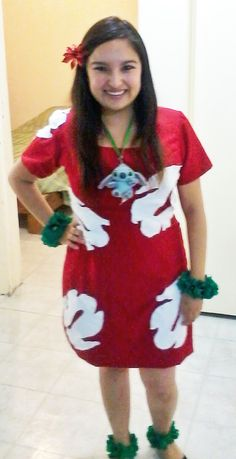Lilo Costume Pattern lilo dress pattern my lilo
