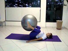 Pilates com bola - Sthefani Lara