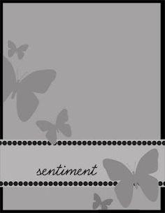 Clean & Simple Card Sketch