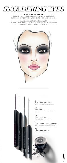 Holiday Get the Look: Smoldering Eyes #MakeItExtraordinary #Sephora #Holiday