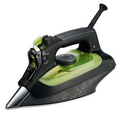 In its Eco and Eco Boost modes, the Rowenta Eco Intelligence Steam Iron ($150) emits less steam irons while still removing wrinkles better than other irons do.