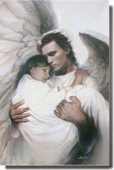 Beautiful guardian angel