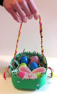 Easter Basket - Milk Jug