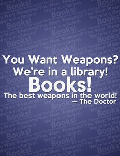 weapon, librari, doctor who