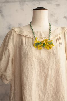 fashion, style, accessori, dress, outfit, mimosas, wear, mimosa necklac, linen