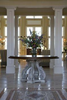 decor, foyers, stair, invit entri, column, hous, habersham, entryway, entranc