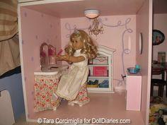 American Girl Doll Doll House powder room