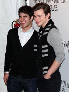 Glee guys at Paley Fest