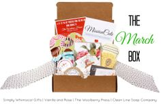 Mission Cute ... 50% of net proceeds from the box are donated to a charity, handmade items
