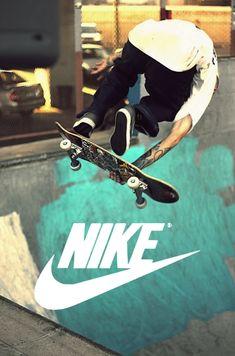 skateboarding nike photography