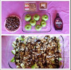 Apple Nachos-