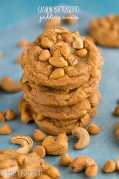 These are the BEST Butterscotch Pudding Cookies I've ever had!