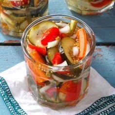 @Marilyn McMullan McNalley  ~  Refrigerator Garden Pickles