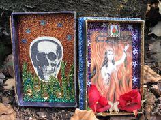 Anima Sola pocket altar/ spirit house