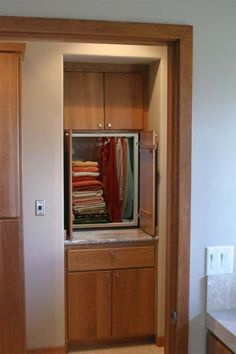 If I need to find a way to put a dumbwaiter in my house!