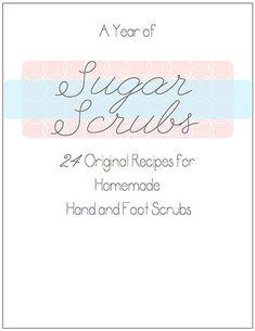 A Year of Sugar Scrubs
