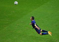 The Flying Dutchman, Robin van Persie. Spain 1 - Netherlands 5 #WorldCup #netherlands