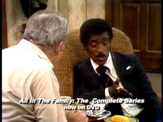 Sammy Davis Jr. talks to Archie Bunker about prejudice!    EI8