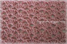Alternating Shells Crochet Stitch