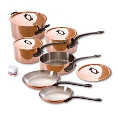 In my dreams :)  M150C Copper Stainless 10Pc, $ 1,500, now featured on Fab.