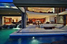 architect, living rooms, villa, most popular, pool, dream homes, beach houses, dream houses, design